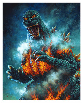 Godzilla Prints by Matt Taylor, Phantom City Creative, Jason Edmiston, Attack Peter & Mondo