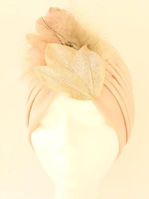 OI 1617 - Coleccion Cobre pluma - Turbante