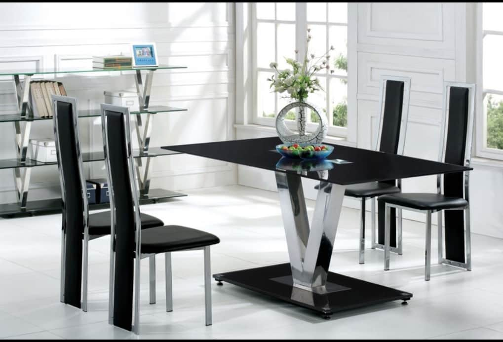 Dining room sets with glass table tops