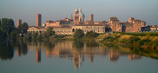 Mantua is an atmospheric city with a lakeside setting