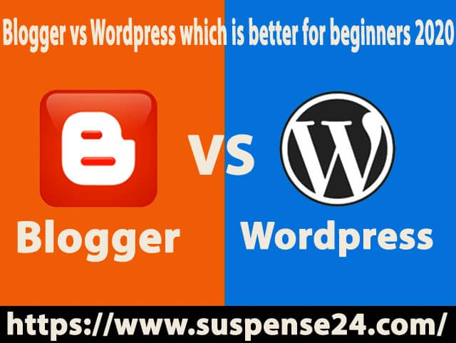 blogger vs wordpress which is better for beginners 2020