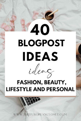 I think at some point or another, us bloggers just get stuck: we don't know what to do, what to write about, what kind of blog photos to take. It's something that is bound to happen, but that doesn't mean we can't be prepared for it. So, that is why I decided to create this post: to help fellow bloggers in desperate times.