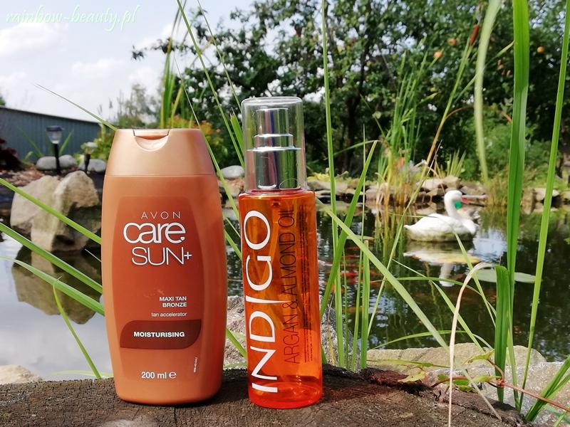 przyspieszacz opalania Maxi Tan Bronze z serii Care Sun+ od Avon