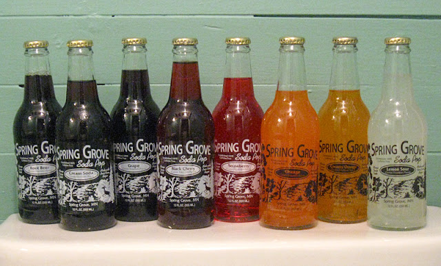 Spring Grove Soda Pop Selection