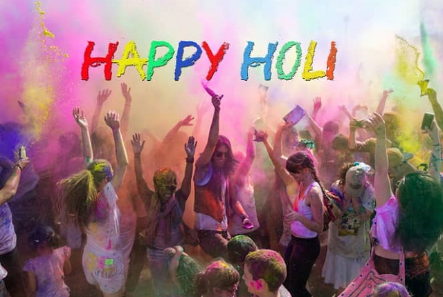 happy holi 2018 sms