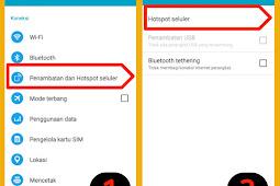 Cara Membatasi Jumlah Client Hostpot Seluler Android (Wifi Tethering)