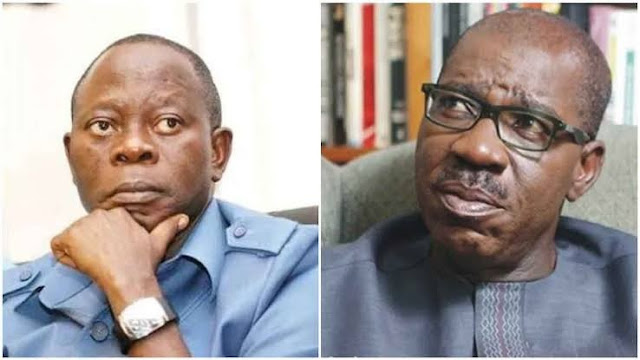 Oshiomhole Compiled List Of Commissioners In His Living Room In 2016 - Obaseki