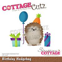 http://www.scrappingcottage.com/cottagecutzbirthdayhedgehog.aspx