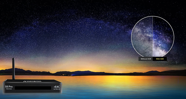 Smartbox Tivi Kiwibox S8 Pro