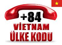 +84 Vietnam ülke telefon kodu