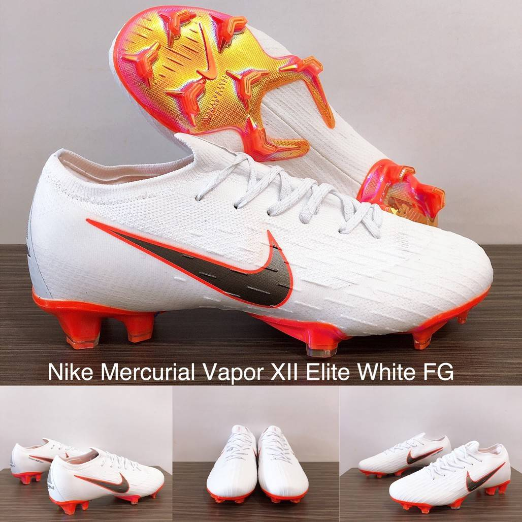 3ee0f8bfd7fb HARGA 590.000. Nike Mercurial Vapor XII Elite Rising Fire FG Size 39 40 41  42 43 44
