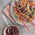 South African Plum Sauce with Duck Stir-fry...