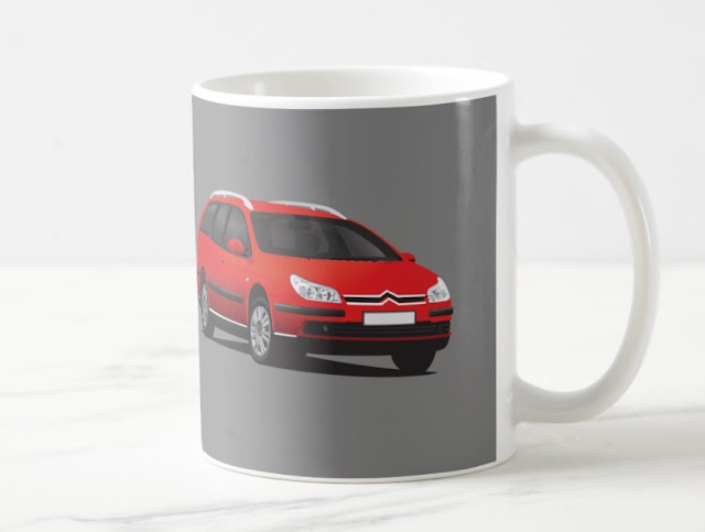 Citroën C5 Break coffee mug