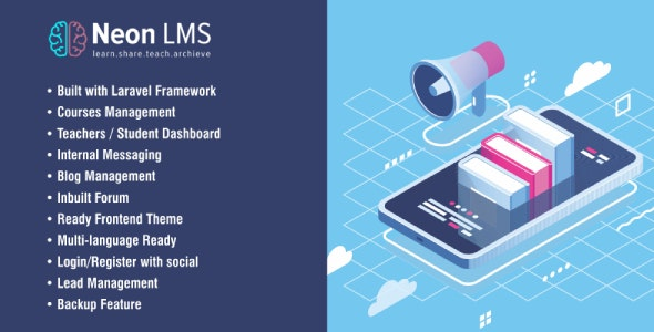 Download NeonLMS Nulled