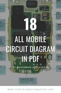 mobile phone circuit diagram