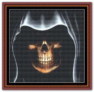 """Black Grim Reaper"" Witchykitt Designs"