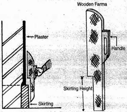 wooden farma template for skirting