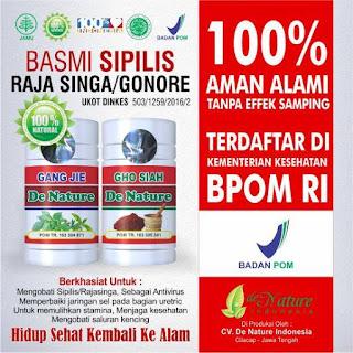 19 Obat Sipilis Herbal Ramuan Terbaik Asli Indonesia
