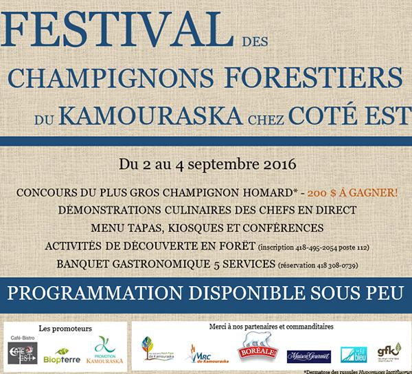 Festival des champignons forestiers Québec 2016