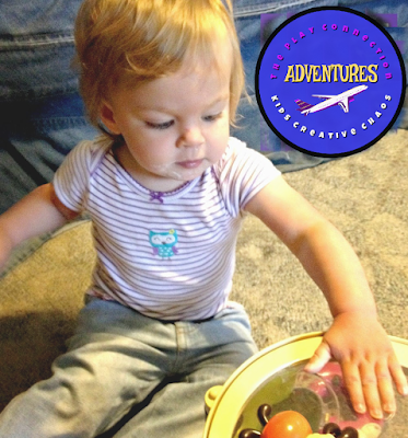 Make your own drum, grab some pots and pans,  or buy a baby music set to teach your baby to play music.