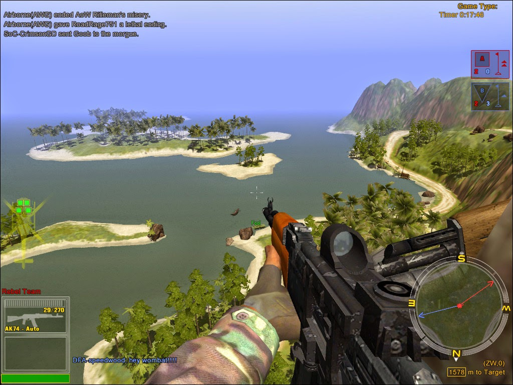 Joint operations: typhoon rising « old pc gaming.
