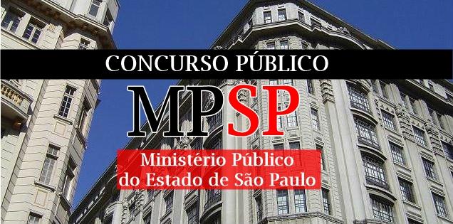 edital do concurso MPSP 2017/2018