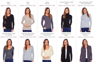 jerseis chaquetas punto mujer
