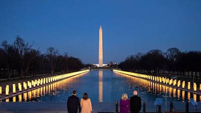 Joe Biden-Kamala Harris Resmi Pimpin Amerika Serikat, 3 Mantan Presiden Ikut Acara Pelantikan