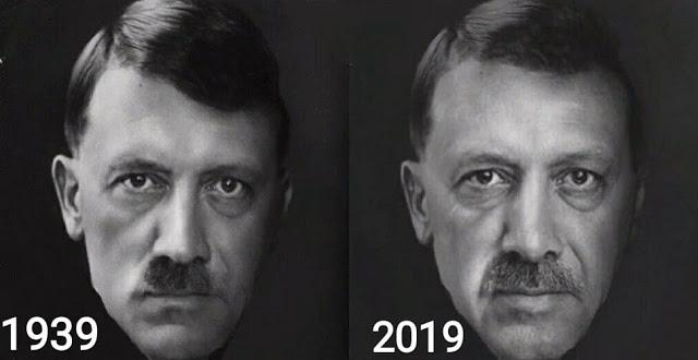 Ερντογάν: Ο νέος Χίτλερ στην Ανατολική Μεσόγειο;
