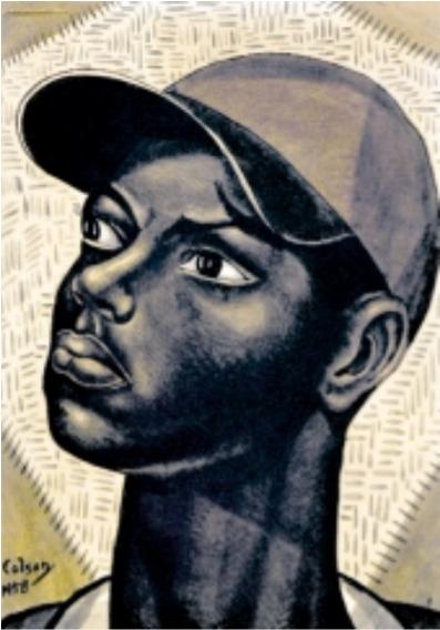 Muchacho con cachucha, 1958