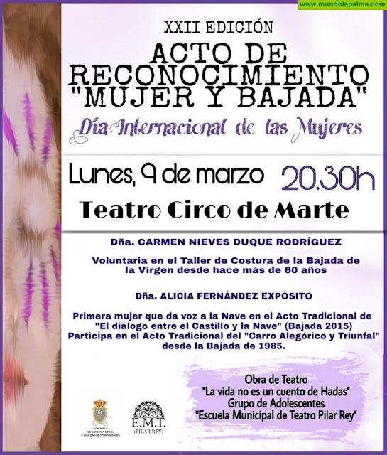 Santa Cruz reconoce la labor de dos mujerespor su trabajo en favor de las Fiestas Lustrales