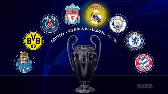 Chelsea vs ?: Escolha o adversário dos blues nas quartas da Champions