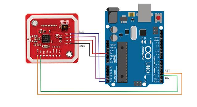 Arduino-PN532 I2C communication