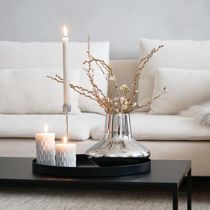 Taca jako dekoracja w mieszkaniu
