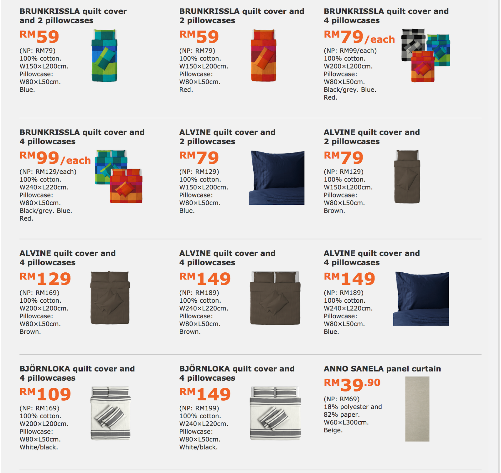Ikea Family Member 42 Furniture Items On Discount Sale