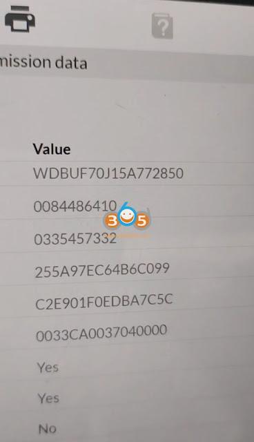Autel IM608 Write VIN on Mercedes VGS2 VGS3 8