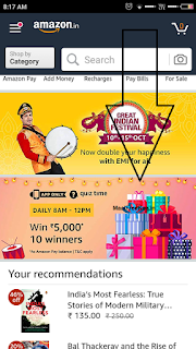 Amazon Quiz Time Answer & Win 5000 28th September