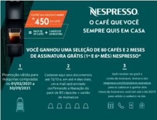 Cadastrar Promoção Nespresso Dia das Mães 2021 Ganhe 450 Reais em Cafés