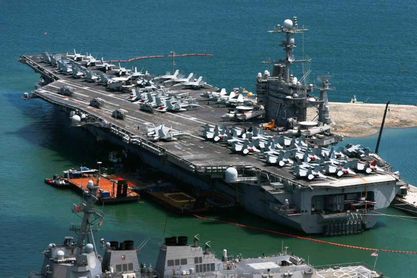 China to sink 2 US aircraft carriers killing 10,000 in SCS ...