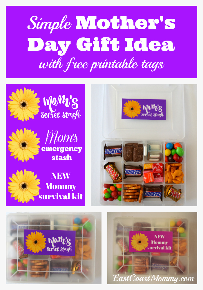 ... moms feel special and today I am sharing a simple homemade Motheru0027s Day gift that moms are going to love. Iu0027m even including free printable gift tags.  sc 1 st  East Coast Mommy & East Coast Mommy: Simple Homemade Motheru0027s Day Gift Idea... with ...
