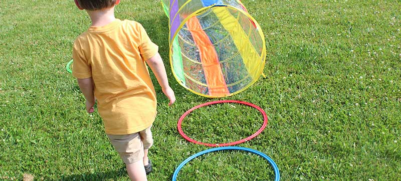 Let Kids Build a Backyard Obstacle Course with Free Printables