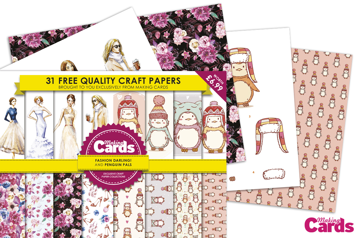 Making Cards Magazine Part - 46: Crafting With Cotnob - Blogger