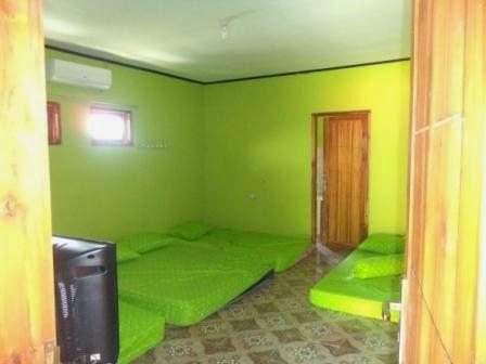 Contoh Kamar Homestay - Desa Sawarna