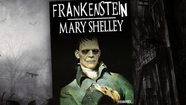 livros de terror, livros clássicos de terror, dicas de livros de terror, literatura de terror, frankenstein, mary shelley