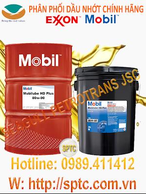Dầu hộp số dầu cầu đa năng Mobilube HD Plus 80W-90