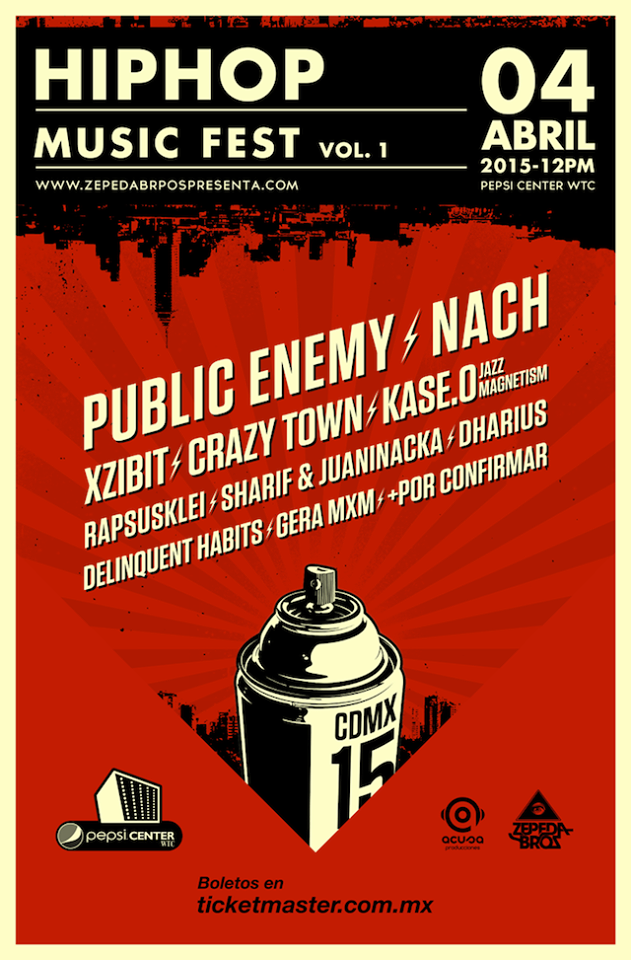 31a1a59bf23cd Everything Live  Cartel del Hip Hop Music Fest vol. 1