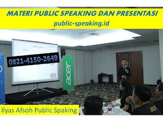Kurikulum Workshop Public Speaking