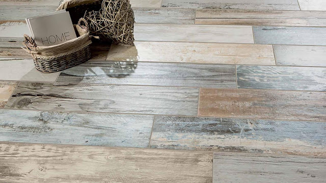 Tiles design for home flooring with Expo collection - The new wood concept