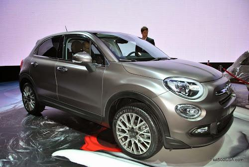Fiat 500X in Matte Bronze