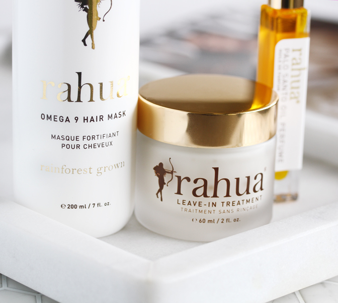Rahua by Amazon Beauty, Rahua Review, Clean Haircare, Ethical Beauty, Eco Luxe Beauty, Rahua Omega 9 Hair Mask, Rahua Leave-In Treatment, Rahua Palo Santo Oil Perfume